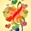 Romantic Music — Stock Photo