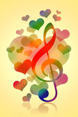 Romantic Music — Stock Photo