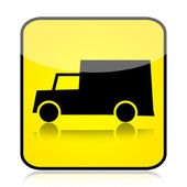 Truck znamení — Stock fotografie