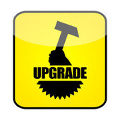 Upgrade sign — Stock Photo