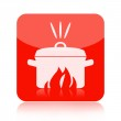 Cooking icon — Stock Photo #24919165
