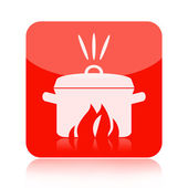 Cooking icon — Stock Photo