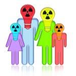 Radioactive Family — Stock Photo #2788821