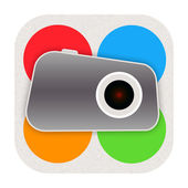 Foto-ikonen — Stockfoto
