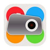 Foto-pictogram — Stockfoto