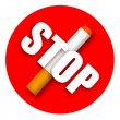 Stop smoking — Foto de Stock