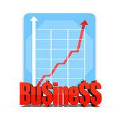 Profitable business growth — Stock Photo