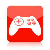 Game controller icon — Stock Photo