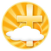 Christianity, Faith, Heaven — Stock Photo