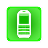 Phone call icon — Stock Photo