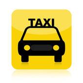 Taxi pictogram — Stockfoto