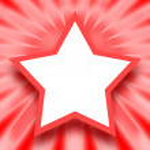 Star frame — Stock Photo #33229143