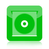 CD player icon — Stock Photo