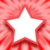 Star frame — Stock Photo