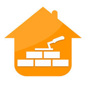 Construction house — Stock Photo