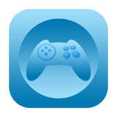 Game controller icon — Stockfoto
