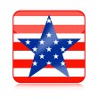 United States of America icon — Stock Photo