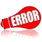 Error — Stock Photo