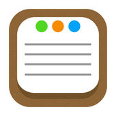 Daily notes icon — 图库照片