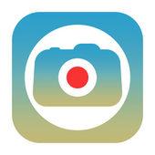 Camera icon — Stock Photo