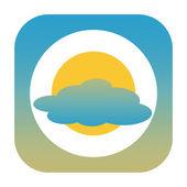 Weather icon — Stock Photo