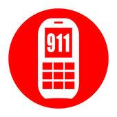 Emergency phone 911 — Stock Photo