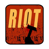 Riot — Stock Photo