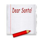 Vážený santa — Stock fotografie