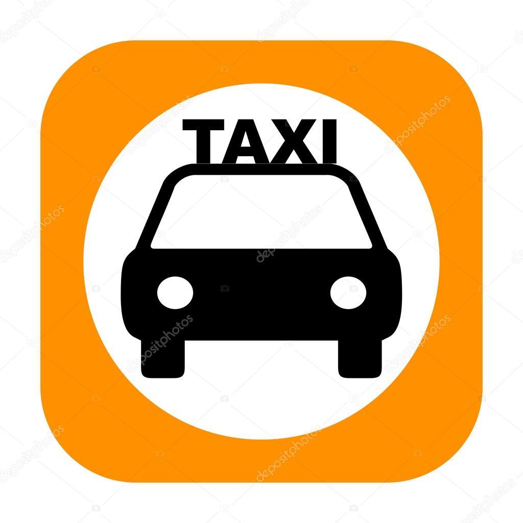 такси значок фото