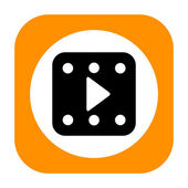Play video icon — Stock Photo