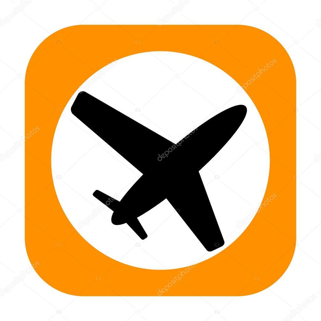 飞机图标 — 图库照片08skovoroda#44022849