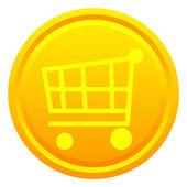 Shopping cart — Stock Photo