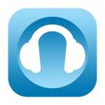 Headphones icon — Stock Photo #46369675