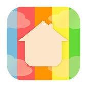 Home icon — Foto de Stock