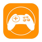 Joystick icon — Foto de Stock