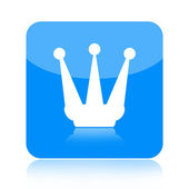 Koruna ikona — Stock fotografie