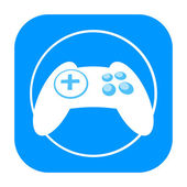 Game controller icon — Foto de Stock