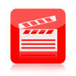 Clapperboard icon — Stock Photo #47737513