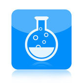 Chemistry icon — Stock Photo