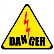 Постер, плакат: Danger sign