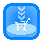 Add to cart icon — Stock Photo