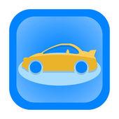 Auto pictogram — Stockfoto