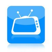 テレビ アイコン — ストック写真