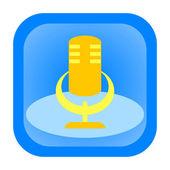 Microphone ico — Stock Photo