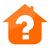Real estate icon — Стоковое фото