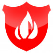 Fire Protection Shield — Stock Photo #9817365