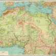 Antique map of Northern Africa. — Stock Photo #12740910