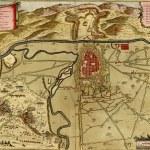 Постер, плакат: Antique map of Turin Italy