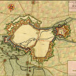 Antique map of D'Arras - Stock Photo