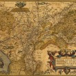 Antique Map of Germany and the Netherlands — Stock Photo #12744274